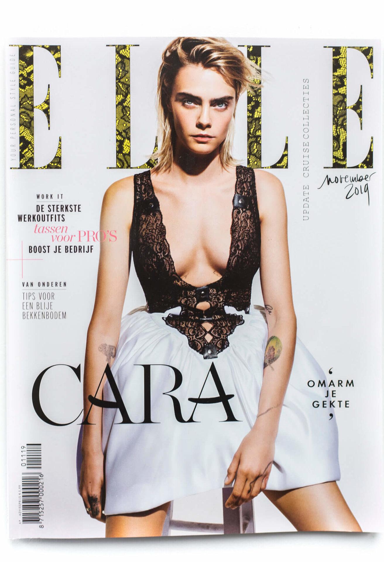 Elle Magazine article Milla Novo Macrame Wallhanging