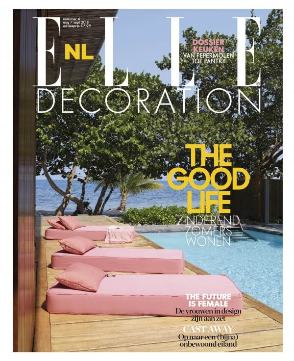 Elle Decoration magazine article Milla Novo Macrame Wallhanging