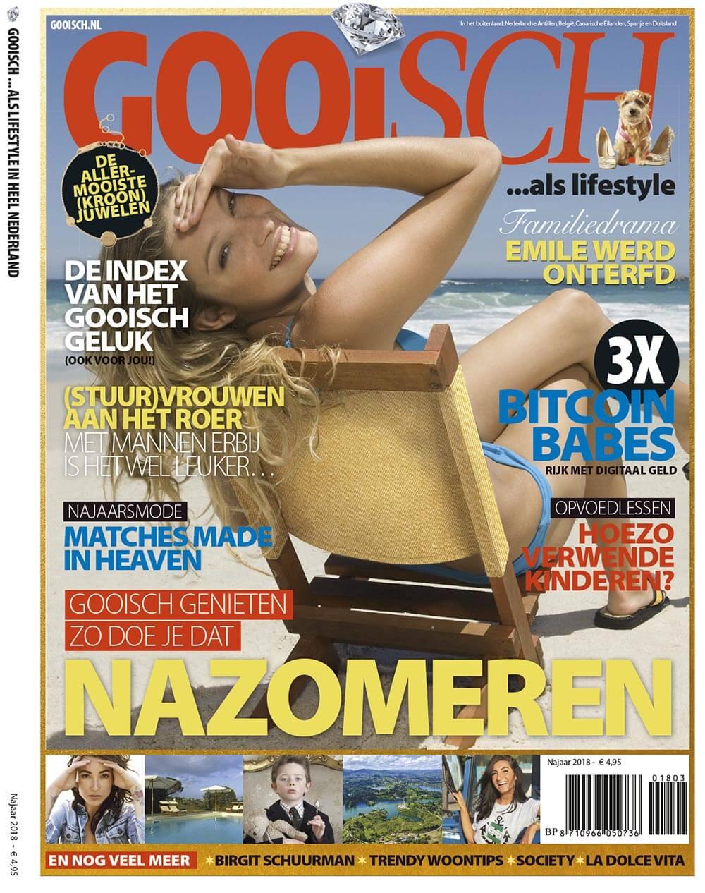 Gooisch Magazine article Goud Gold Milla Novo Macrame Wallhanging