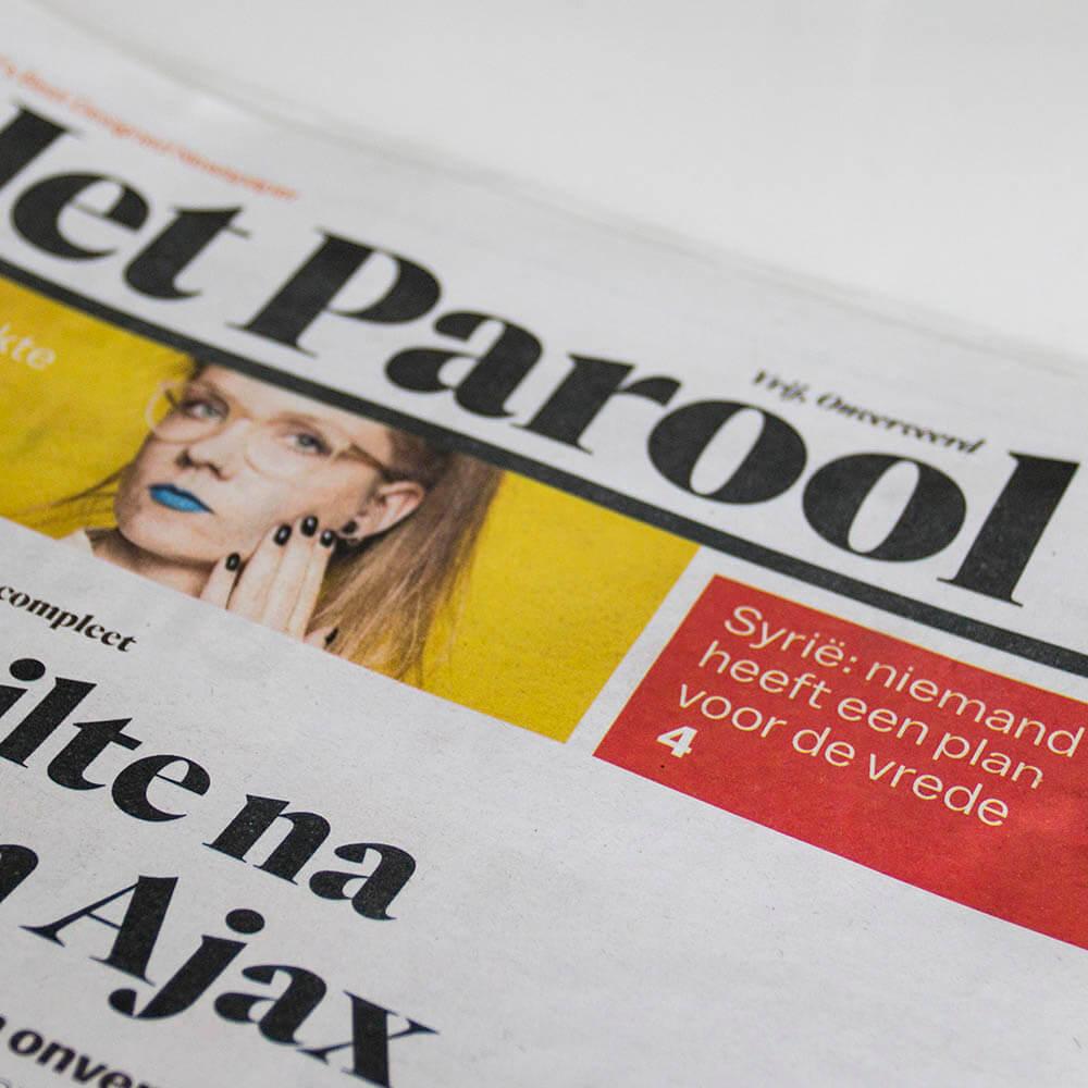 Het parool artikel Milla Novo Macrame Wallhanging