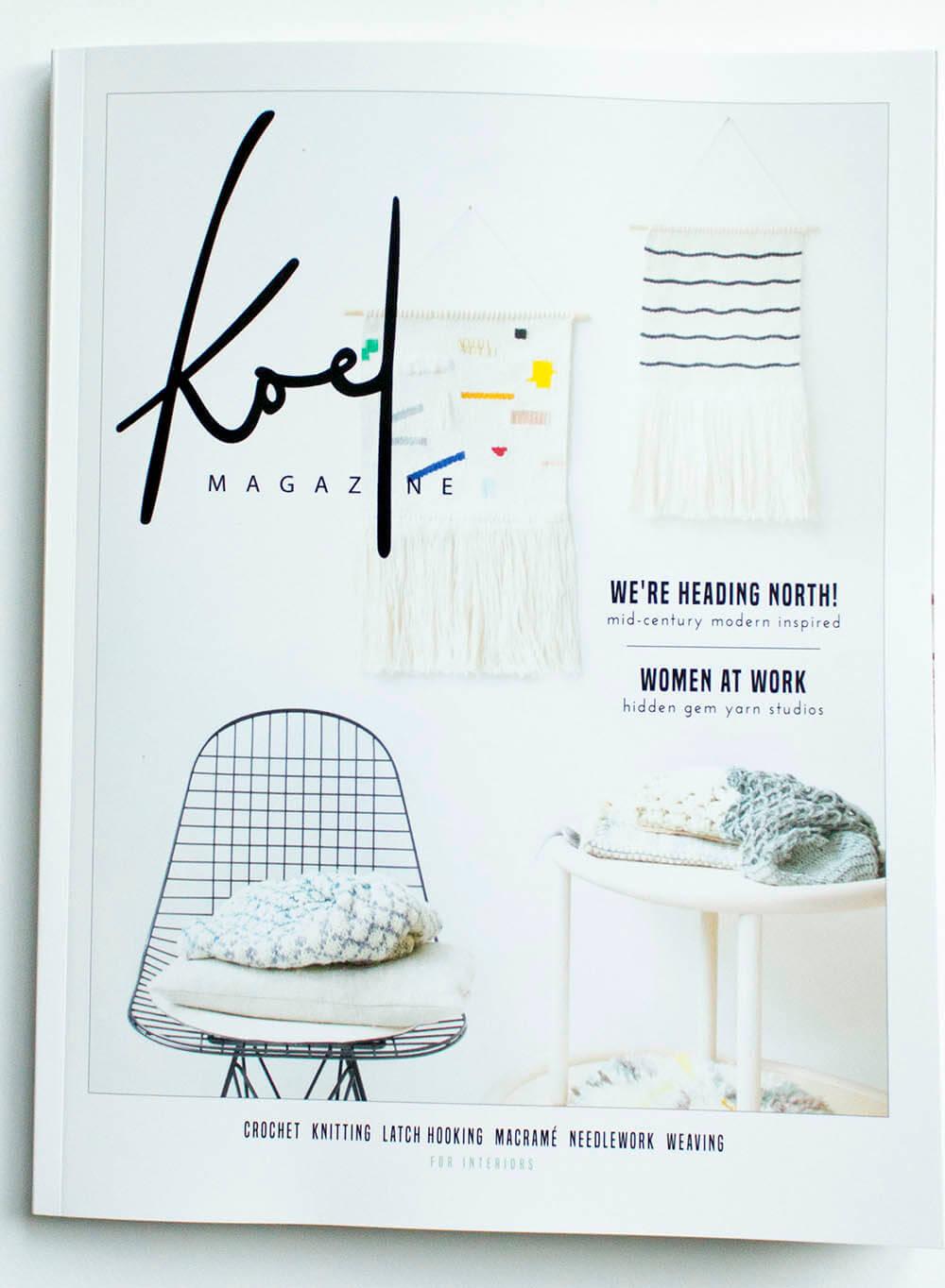 Koel Magazine article Milla Novo Macrame Wallhanging