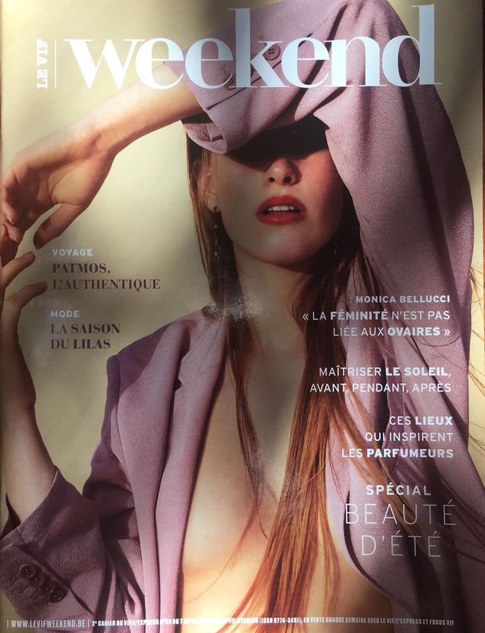 Weekend Magazine Article Goud Gold Milla Novo Macrame Wallhanging