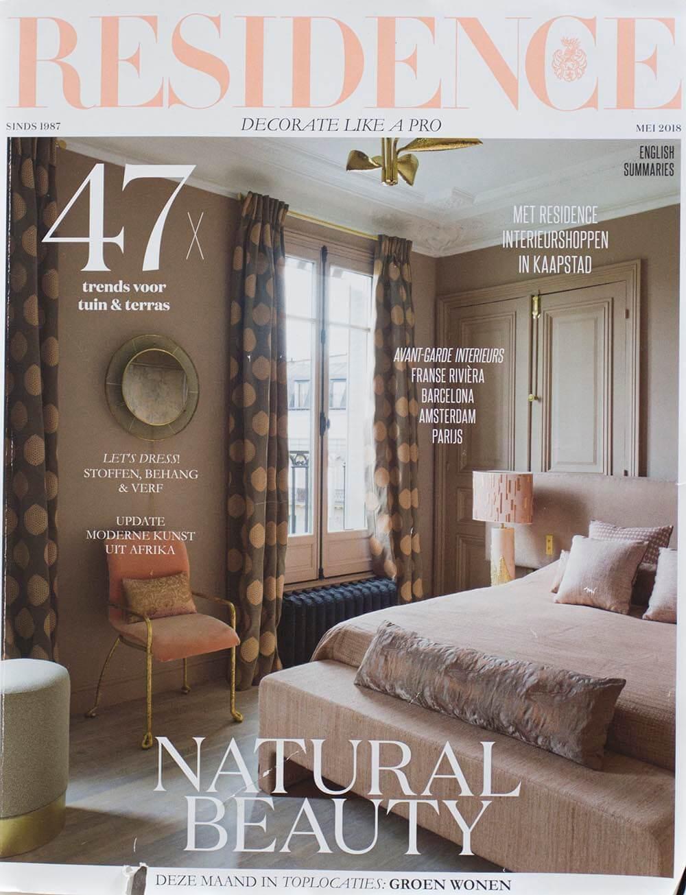 Residence magazine article Milla Novo Macrame Wallhanging