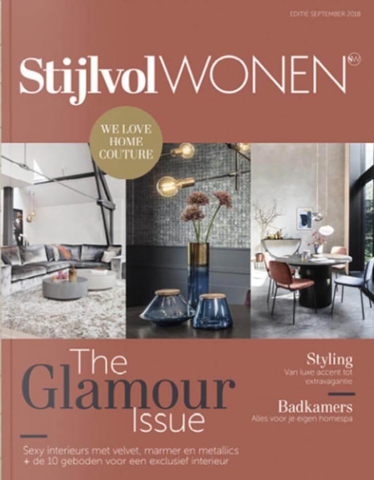 Stijlvol Wonen magazine article Milla Novo Macrame Wallhanging