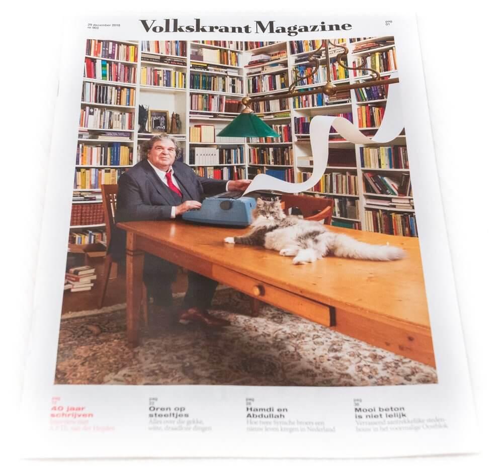 volkskrant magazine article Milla Novo Macrame Wallhanging